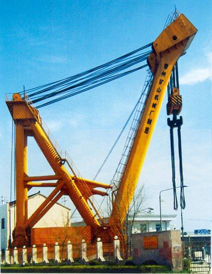 东芝变压器有限公司420吨桅杆起重机图片